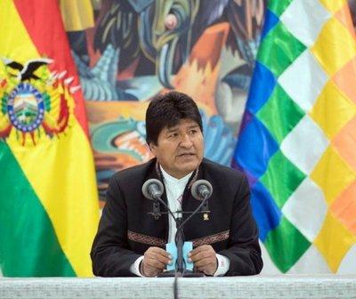 "Bolivia: Helicóptero de Evo Morales sufre ""falla mecánica"" al despegar"