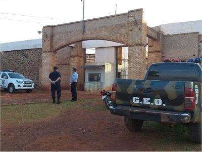 Policía Nacional verifica penitenciaría de Pedro Juan Caballero