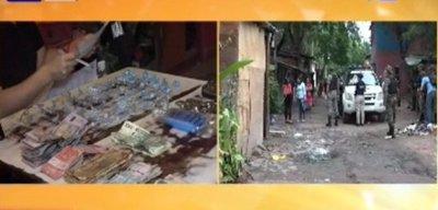 Allanan viviendas de la Chacarita buscando desbaratar red de microtráfico