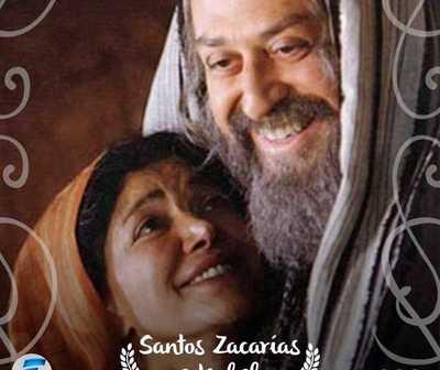 Hoy es la fiesta de San Zacarías y Santa Isabel, padres de Juan Bautista