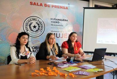 """30 casos de feminicidios en el año: Ministerio de la Mujer realizará campaña de concienciación por el """"Mes Naranja"""""""