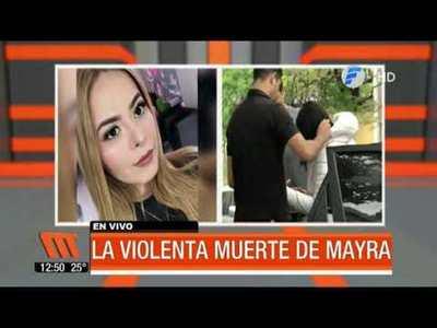 Sospechoso de matar a Mayra irá a Tacumbú