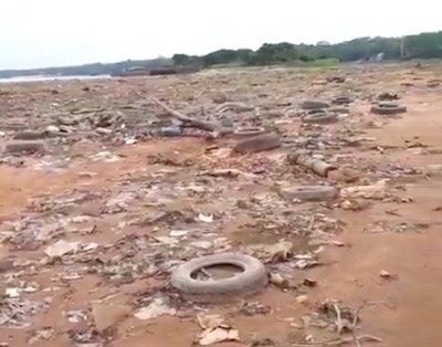 Jóvenes hartos de la contaminación limpiarán zonas ribereñas