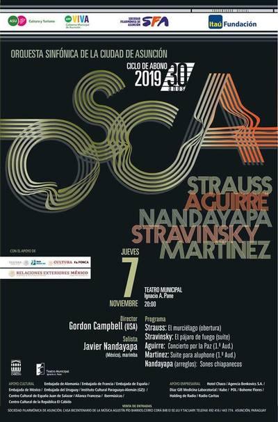 """OSCA dará su 7mo concierto de la temporada con """"El Arte de la Marimba"""""""