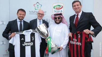 Supercopa italiana se jugará de nuevo en Arabia
