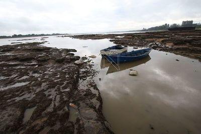 Bajante del río produce sobrecostos a las empresas de navegación