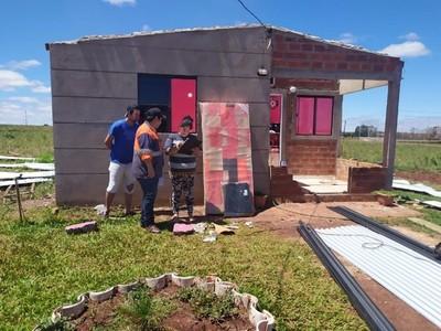 SEN asiste a familias tras temporal que afectó a varias localidades