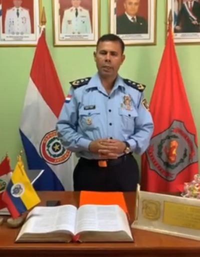 Asume nuevo jefe en la comisaría de Pdte. Franco