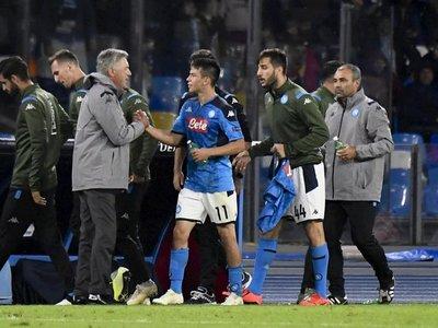Jugadores del Napoli se niegan a seguir concentrados