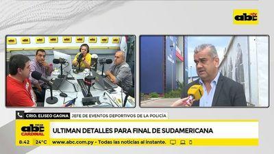 Ultiman detalles para final de Sudamericana