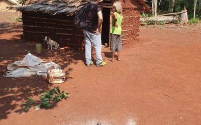 Niños en estado de desnutrición en comunidad indígena de Ñacunday