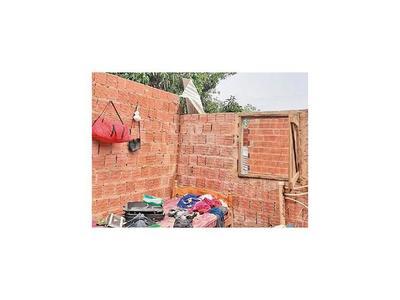 Temporal causó destrozos en Chaco