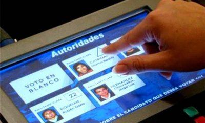Contrataciones públicas suspende licitación para alquilar máquinas para voto electrónico