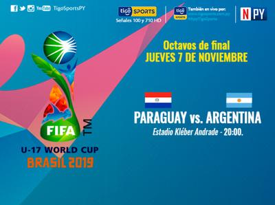 La Albirrojita se presenta por los octavos de la Copa Mundial Sub 17 de la FIFA