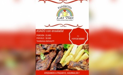 Hogar Las Tías organiza almuerzo para pagar aguinaldos a funcionarias