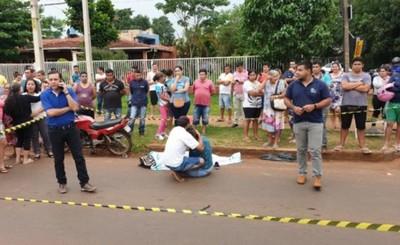Motociclista que arrolló a mujer es imputado por homicidio culposo