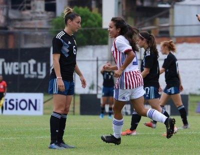 Paraguay no pudo ante la mundialista Argentina