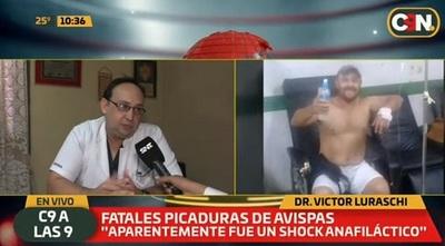 Director de hospital habla de la muerte de albañil a causa de picaduras