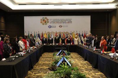Fiscales Generales de varios países se reúnen en Asunción