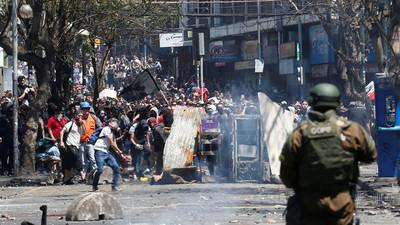 Suman más 2300 denuncias de vulneraciones a DD.HH. durante protestas en Chile