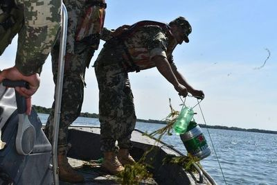 Sigue decomiso de materiales prohibidos para pesca en Ayolas