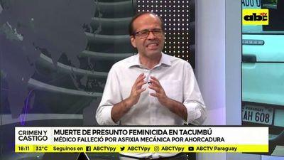 Muerte de presunto feminicida en Tacumbú