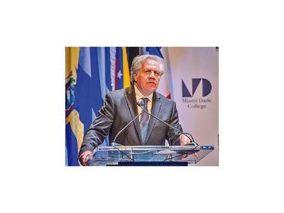 Secretario general de la OEA estará en Paraguay Dialoga