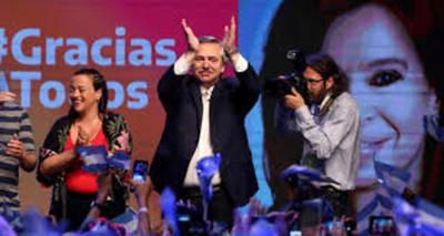 Escrutinio definitivo confirma la victoria de Alberto Fernández en Argentina
