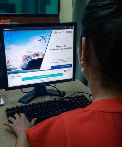 Datos sobre comercio exterior se encuentran en la página web de Hacienda