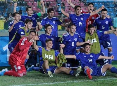 Paraguay e Italia completan cuadro de cuartos de final del Mundial Sub-17