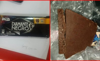 Denuncian venta de chocolates con fibras de vidrio en colegio