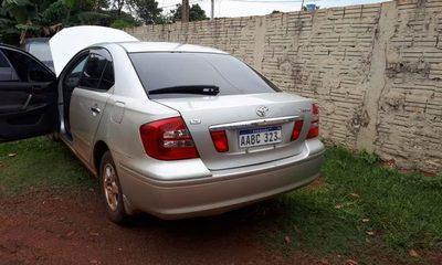 Recuperan vehículo robado en Hernandarias
