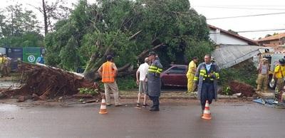 Intendente señala daños materiales importantes en Villa Elisa