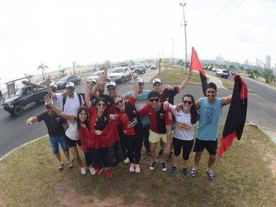 Final de la Sudamericana: El éxodo sabalero se apodera de la Costanera de Asunción