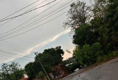 Villa Elisa es declarada en emergencia tras fuerte temporal
