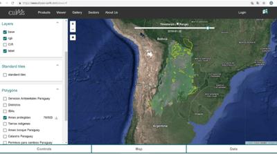 Monitorean el Chaco Américano mediante plataforma que utiliza IA