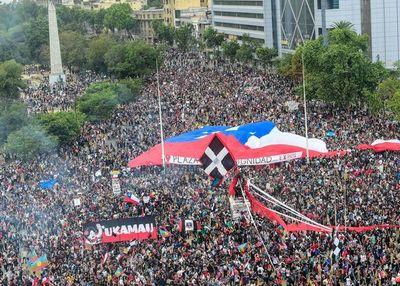 Se reavivan con fuerza las manifestaciones en Chile