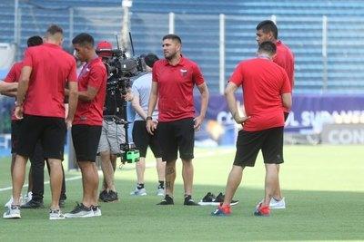 Ortega: 'estoy mirando siempre la chance para hacer goles'