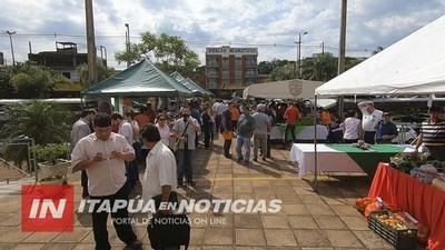 PRODUCTORES ITAPUENSES PARTICIPARON DE EXITOSA FERIA