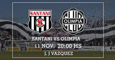 Ya no quedan graderías para Santaní vs Olimpia