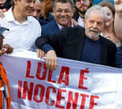 Lula da Silva fuera de la cárcel