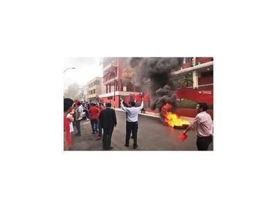 Anuncian protestas y cierres de ruta si TSJE no retrocede