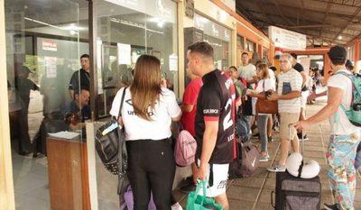 Unos 32.000 hinchas ya ingresaron al país para la final de la Copa Sudamericana