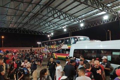 Unos treinta y dos mil hinchas ingresaron a Paraguay para final única de la Sudamericana
