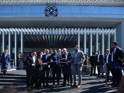 La APF inaugura moderna sede en Luque