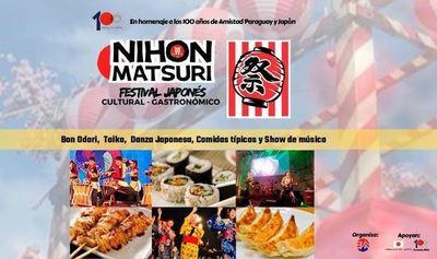 Hoy se realiza el mayor festival cultural y gastronómico del Japón en Asunción