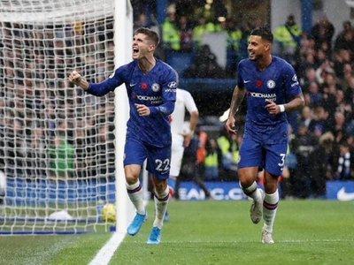 Abraham y Pulisic ponen segundo al Chelsea