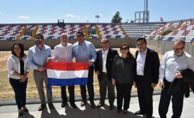 HOY / Presidente de FIFA inaugura el estadio playero