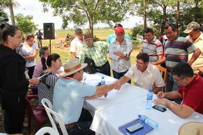 Indert articula acciones con productores de Caaguazú