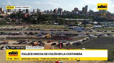 Fallece hincha de Colón en la Costanera